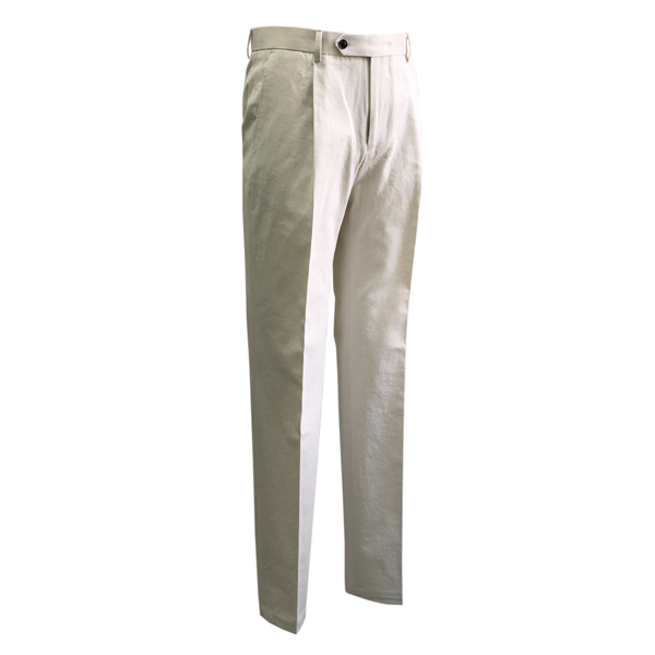 SORTIE - 12s Cotton Denim Trousers (Ivory)
