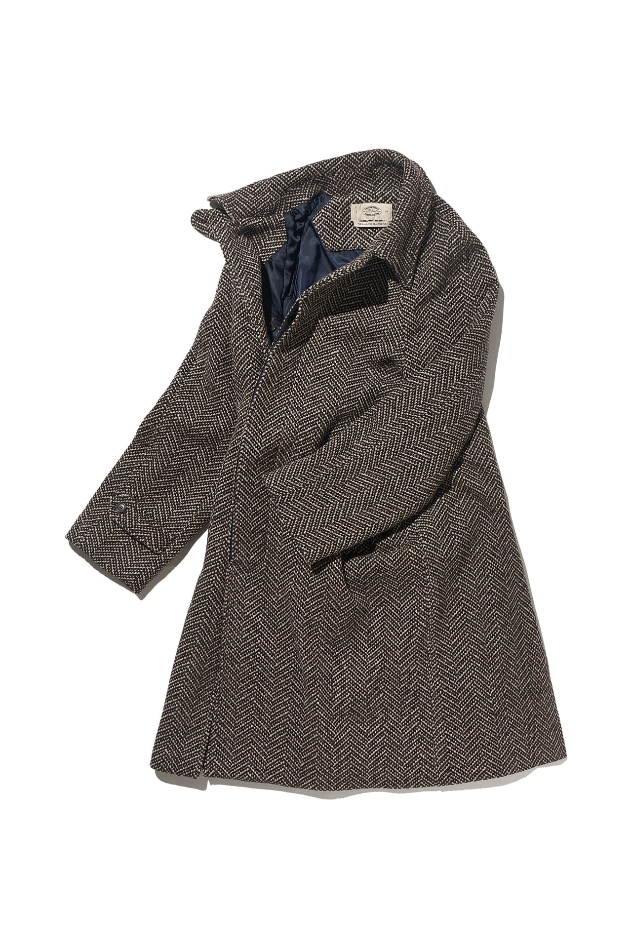 [Amfeast] COLOMBO FABRIC BASIC RAGLAN COAT