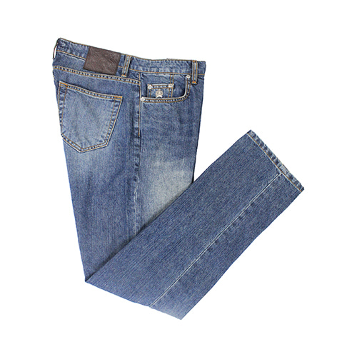 [벨리프] Tailored 5-Pocket No.1 Denim jeans(Mid-Wash)