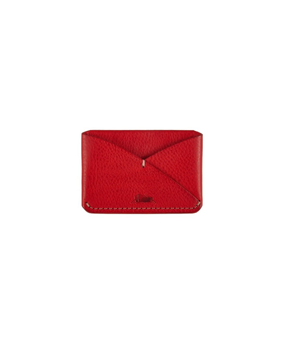 [Brass boats] Card Case Single (Papavero Red)
