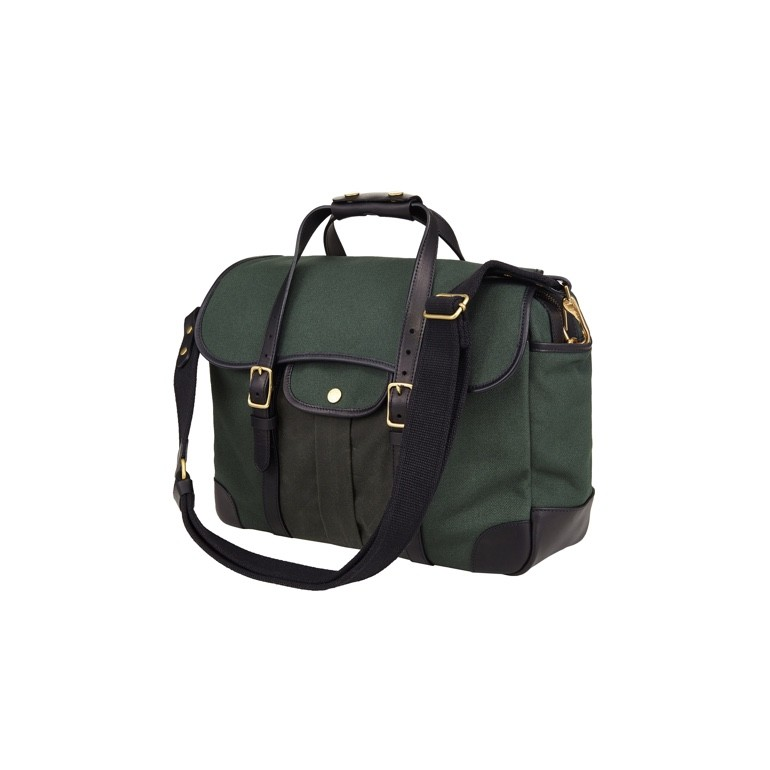 [Brass boats] Briefcase 'British Hunter Green - Martexin Pocket'