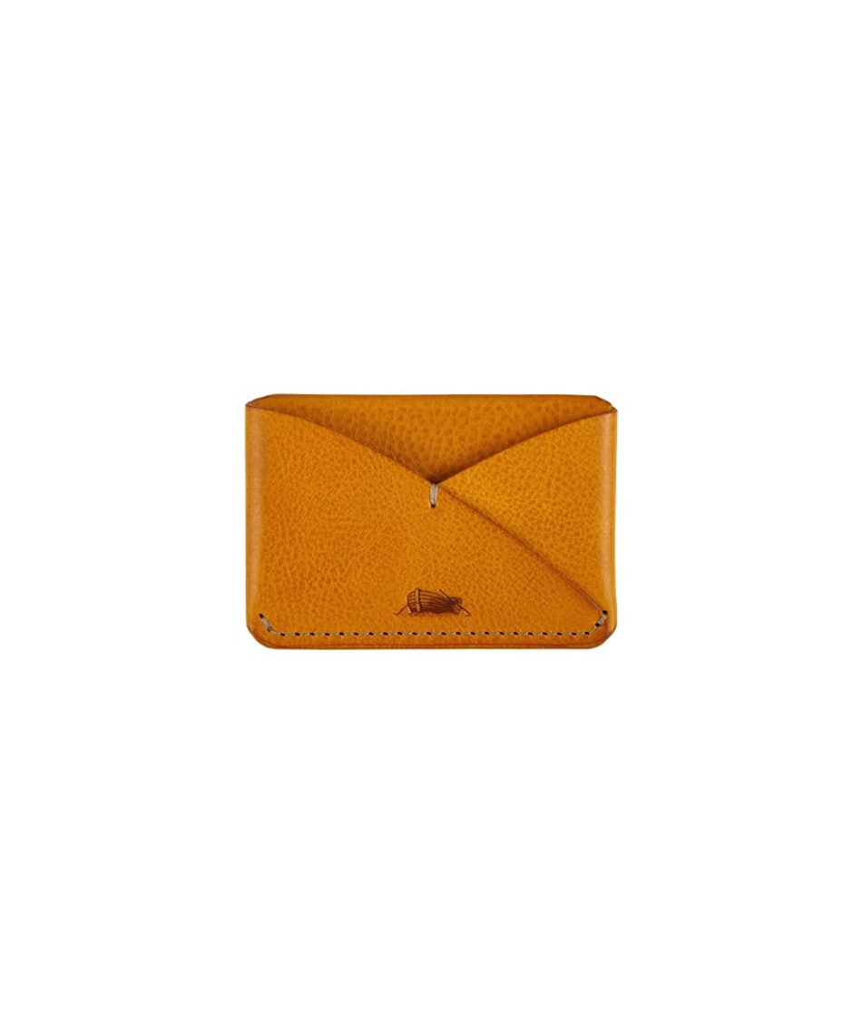 [Brass boats] Card Case Single (Napoli Yellow)