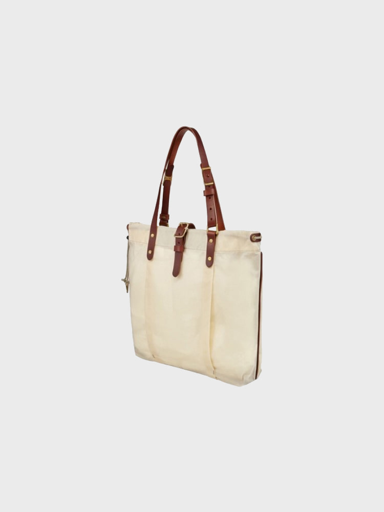 [Brass boats] Wax Tote 'Natural - Martexin'