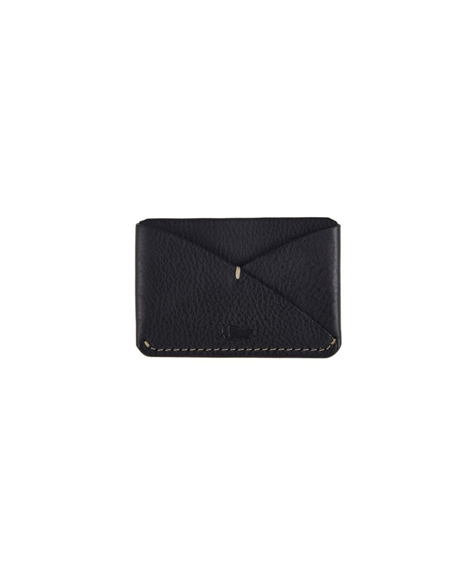 [Brass boats] Card Case Single (Nero Black)