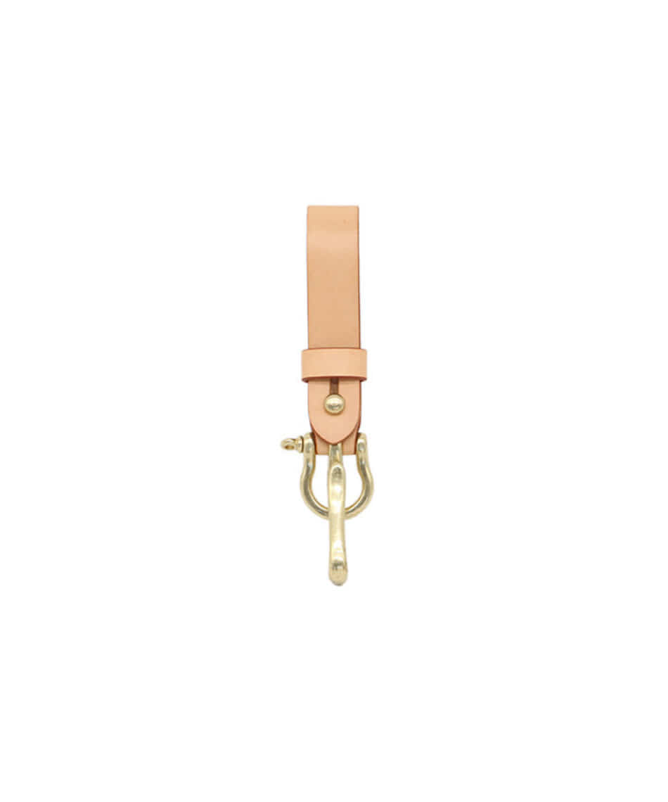 [Brass boats] Multi Key-ring Lanyard (Natural)