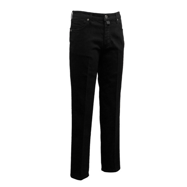 SORTIE - 318 Tailored Denim Jeans (Black)