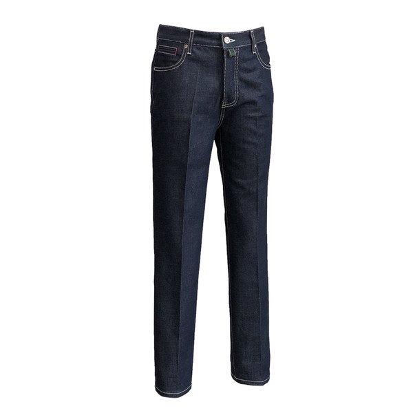 SORTIE - Raw Tailored Denim Jeans (Navy)