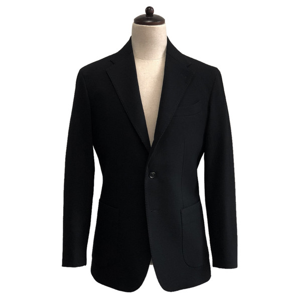 SORTIE - Wool Lycra Sports Jacket (Black)