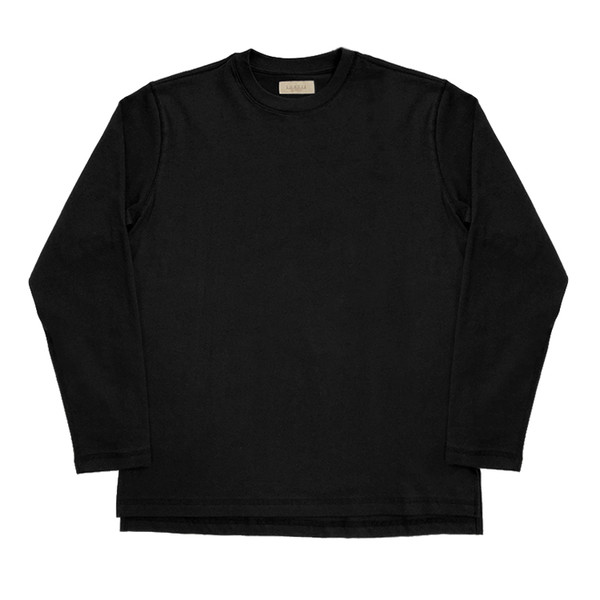 [솔티] 3N605 Crew neck T-Shirts(Black)