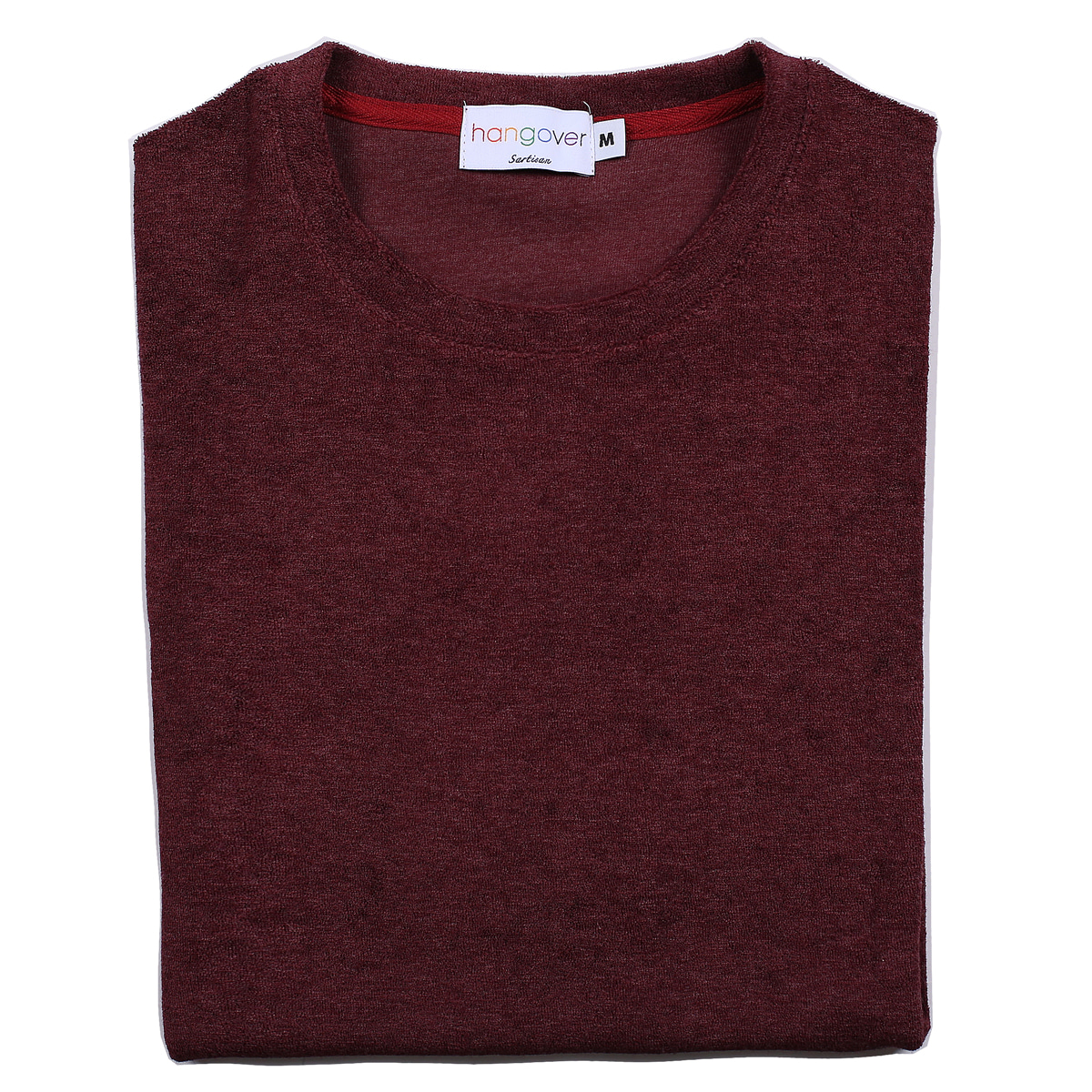 [행오버] TERRY T-SHIRTS_BURGUNDY