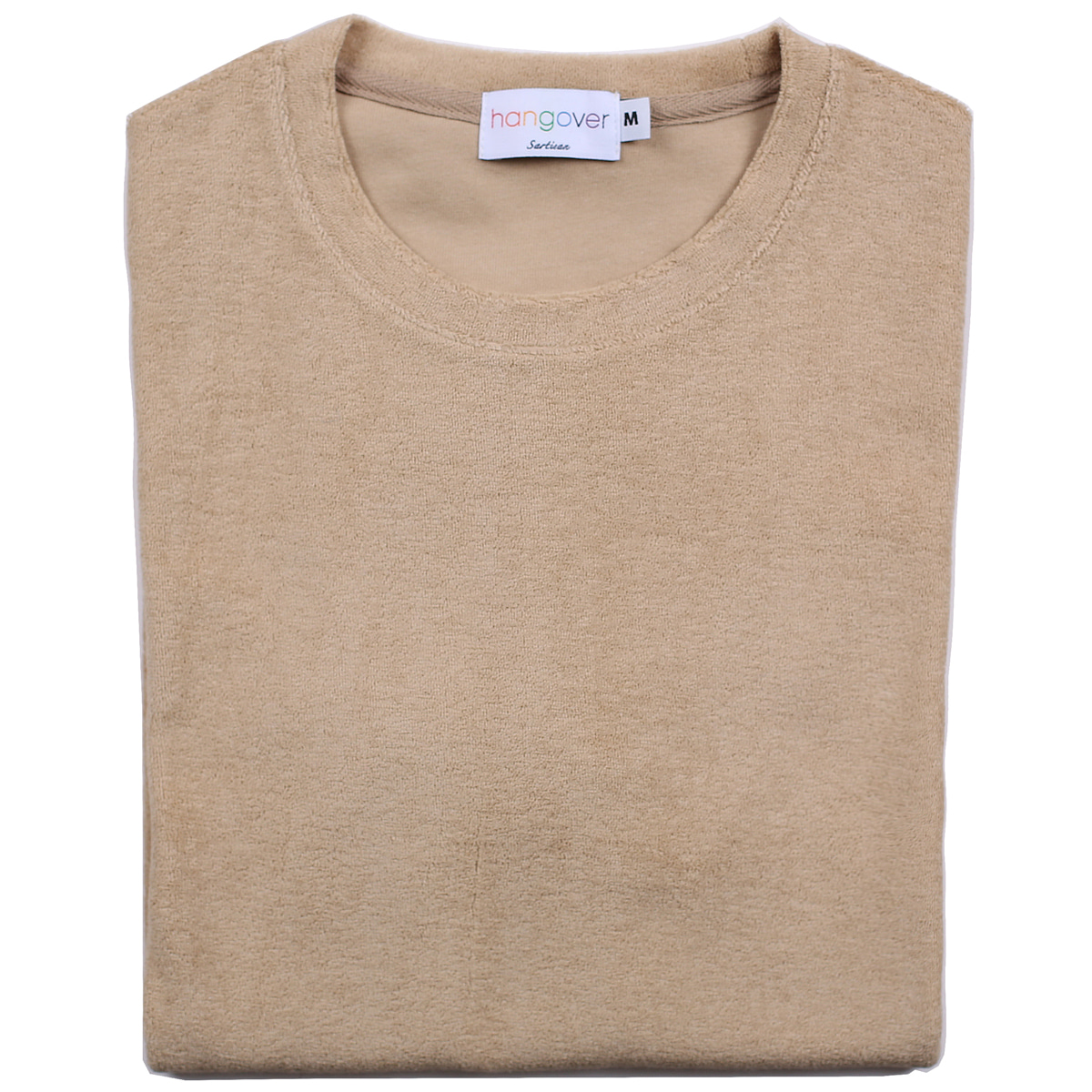 [행오버] TERRY T-SHIRTS_BEIGE