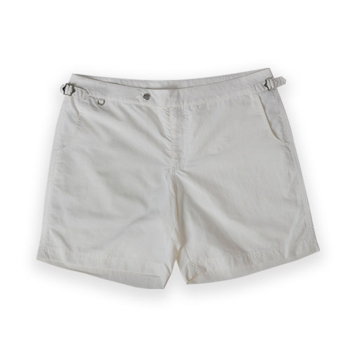[벨리프] Utility Swim shorts (White)