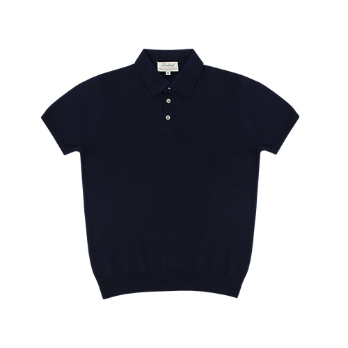 [벨리프] Soft polo kint (Navy)