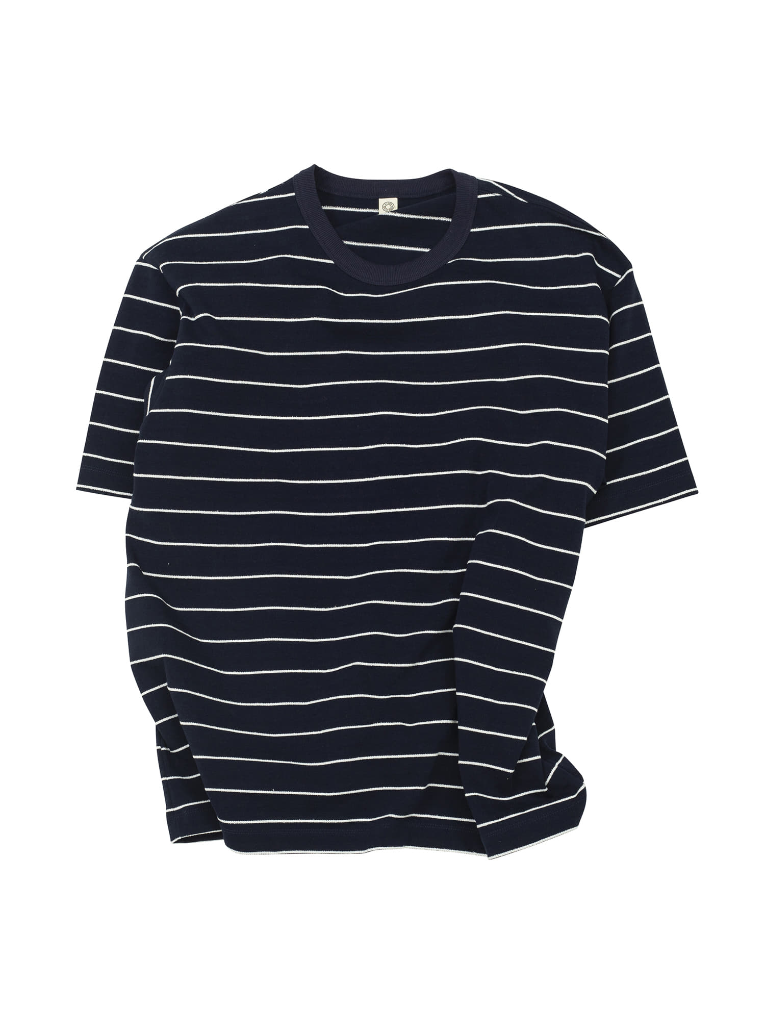 [올드비]  ATT COTTON BASQUE SHIRT NAVY