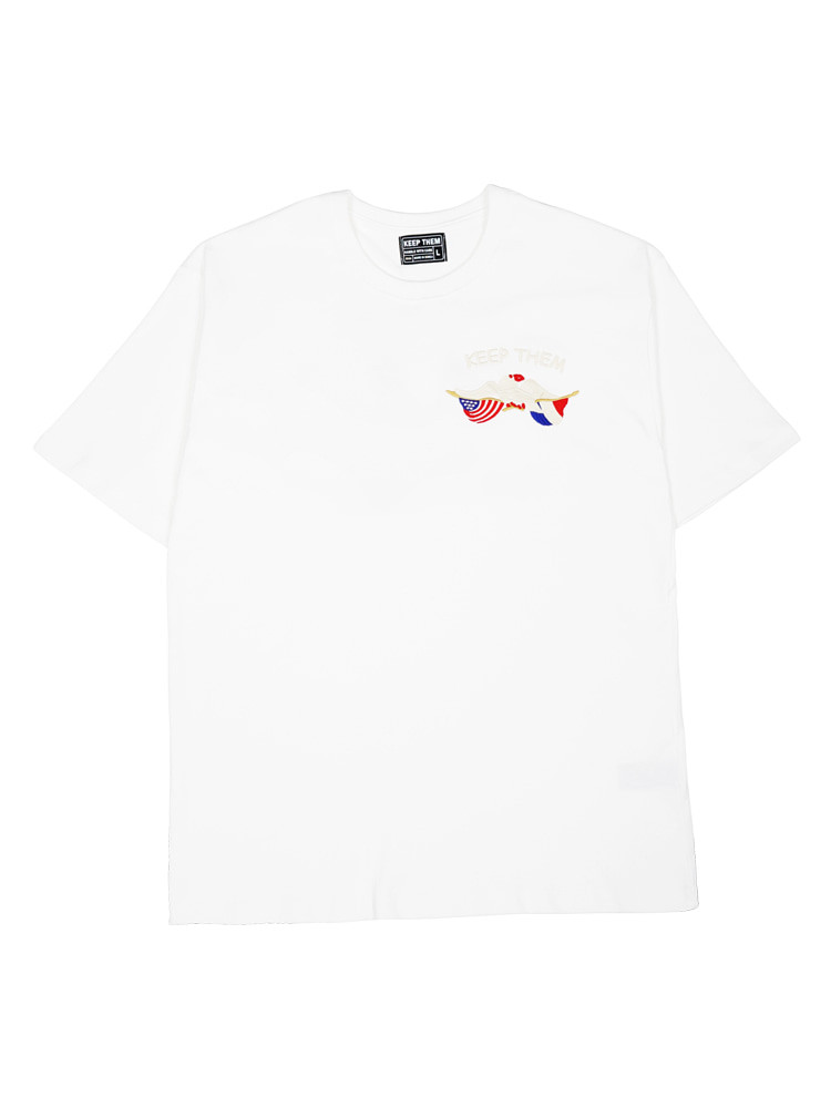 [킵뎀] Normandy 'Neptune' Operation T-shirts White