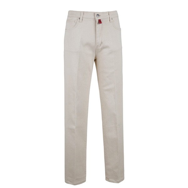 SORTIE - 629 Tailored Denim Jeans (Ivory)