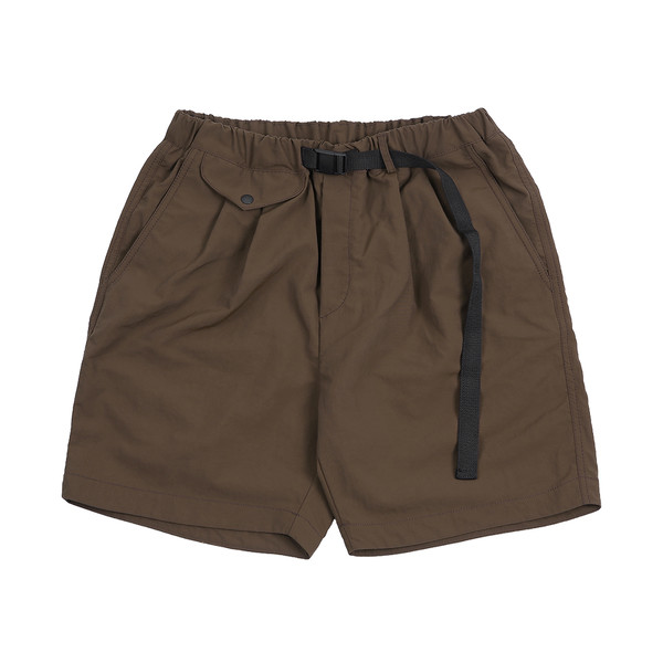 솔티 - Drawstring Swim Shorts (Brown)