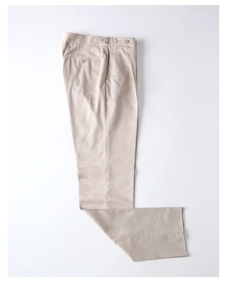 [테스토리아] TESTORIA PB PANTS - BEIGE COTTON
