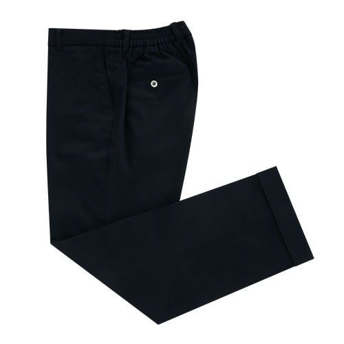 [벨리프] Gaberdine cotton banding chino pants (Navy_japan fabric)