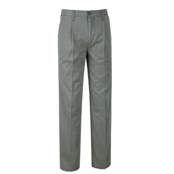 솔티 - M05 Vandelden Cotton Trousers (Khaki)